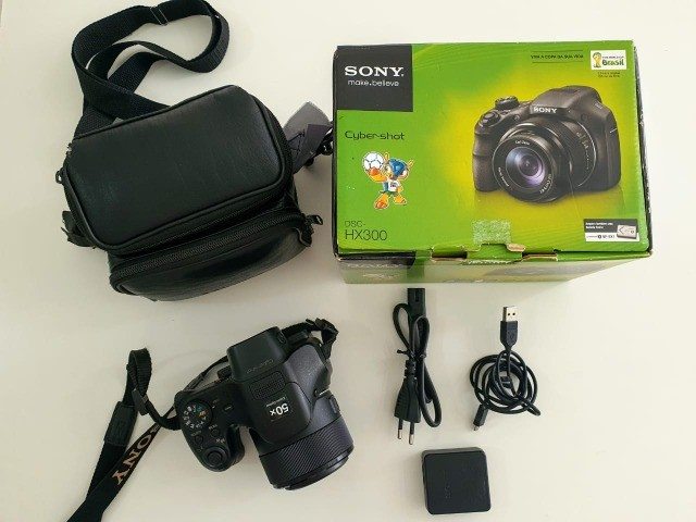 Câmera Semiprofissional Sony DSC-HX300 + Cartão 8Gb - Foto 2