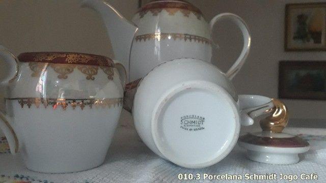 Jogo de Café porcelana Schmidt - Foto 2