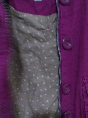 Jaqueta 3/4 Rosa fucsia - Foto 3