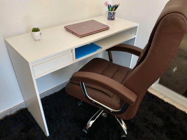 Mesa de manicure/ escrivaninha/ multiuso MDF novo - Foto 5