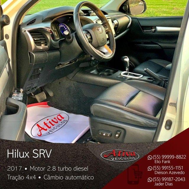 Toyota - Hilux SRV 4x4 2.8 Diesel Aut. - 2017 - Foto 3