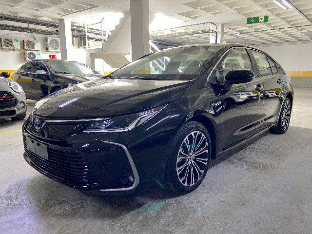 Toyota Corolla Altis Hybrid Blindado Teto Solar Okm Pronta Entrega - Foto 3
