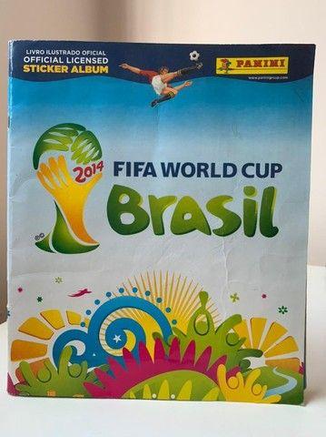 Álbum Copa 2014 NÃO completo