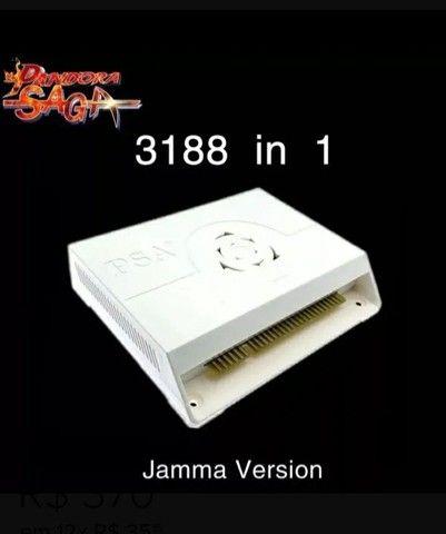 Fliperama Black  3188 jogos - Foto 4