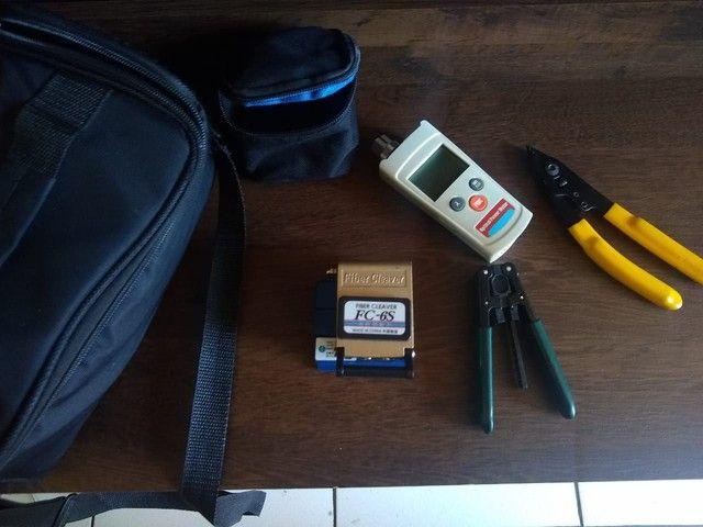 Kit de instalação de fibra optica  - Foto 2