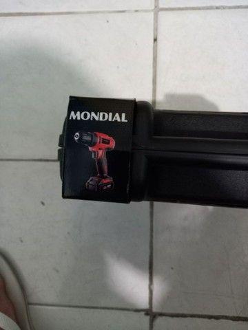 A Marca Mondial 12 v parafusadeira e Furadeira.  - Foto 3