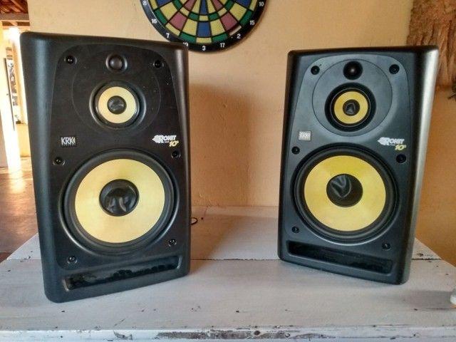 Monitores de áudio Krk Rokit Ativos