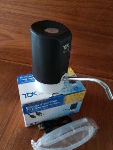 Bomba Elétrica garrafão com Carregamento USB  - Foto 2