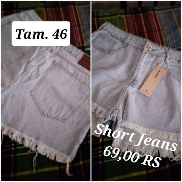 Calça jeans masculinos e femininos - Foto 2