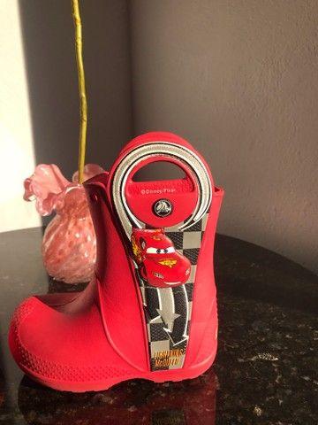 Galocha/bota crocs infantil c7