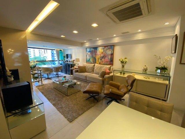 Edf Via Tazolli Setubal/129m/3 suites/capa de revista/luxo/3 vagas/lazer. - Foto 5