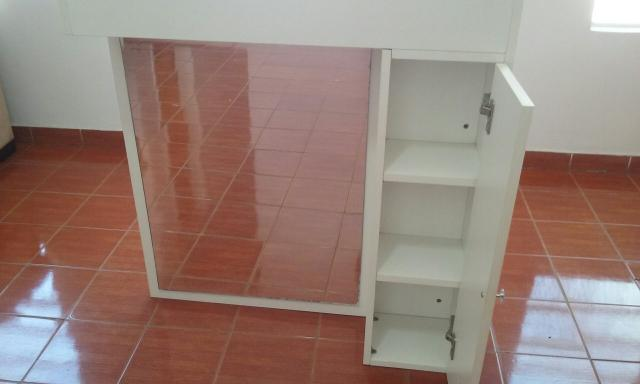 Artesanato Westphalen Curitiba ~ Armário com espelho em MDF Materiais de construç u00e3o e jardim Cidade Vista Verde, S u00e3o José Dos