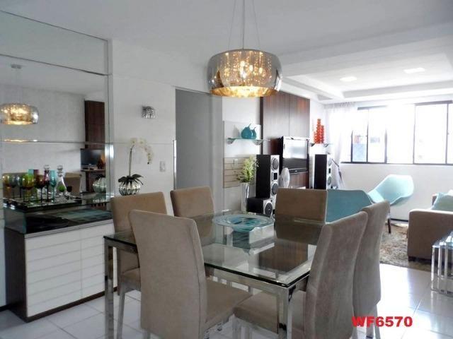 Cygnus, apartamento 3 quartos, 2 vagas, próximo Whashington Soares, Luciano Cavalcante - Foto 3