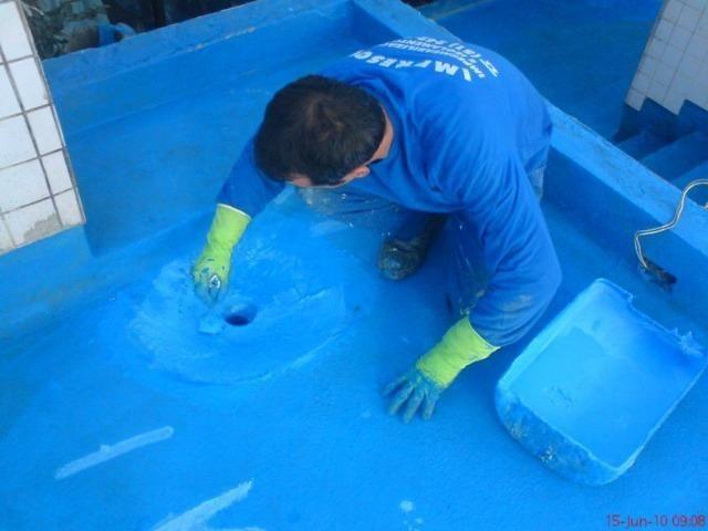 Impermeabilização R$ 40, m² a partir - goteiras vazamentos