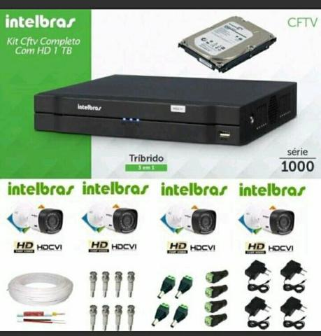 Kit Câmeras intelbras
