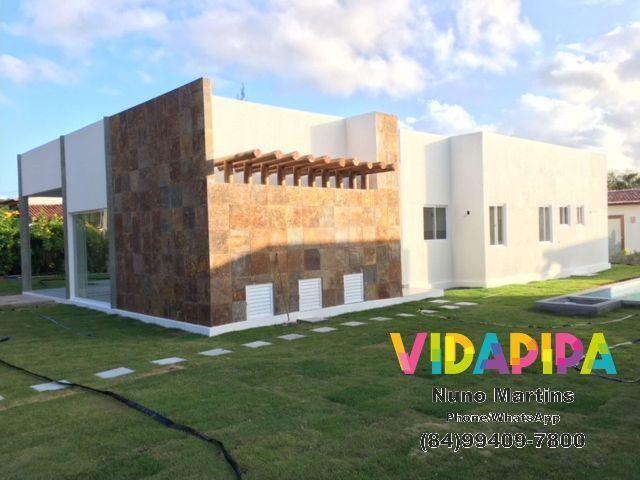 Casa 3/4 com todo luxo e requinte no Condomínio Quinta do Sol - Praia de Pipa