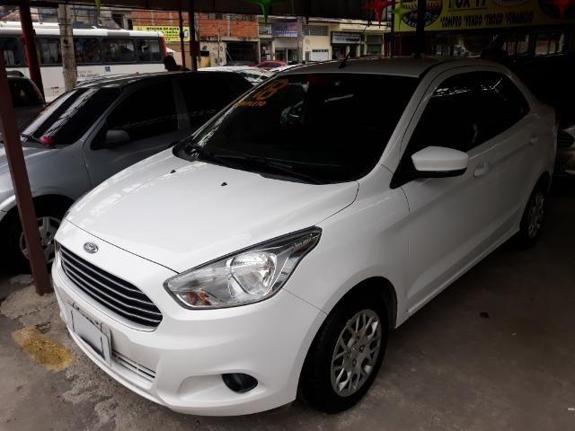 Vendo Ford Ka Se 1.5 Completo + GNV 5.G°e IPVA 2019 Grátis - Foto 3