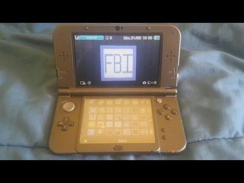Nintendo 3ds serviços em geral, boot9strap para versão 11 10 ou a  anteriores!