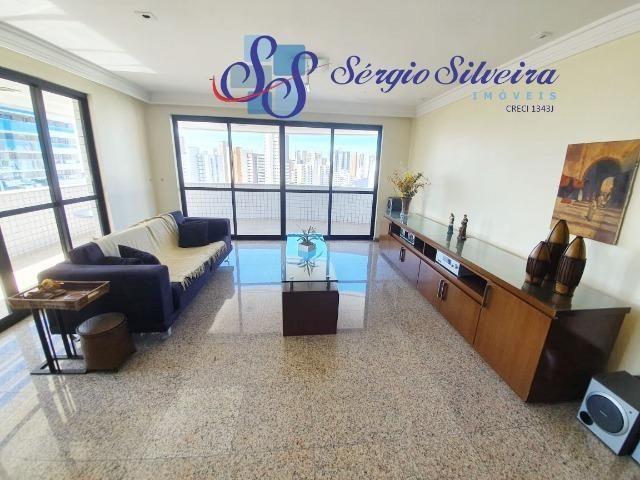 Apartamento na Aldeota com 4 suítes todas com closet, amplo e ventilado, nascente 4 vagas - Foto 15