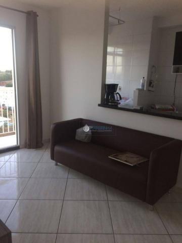 Apartamento com 2 dormitórios à venda, 57 m² por r$ 180.000 - parque residencial flamboyan - Foto 4