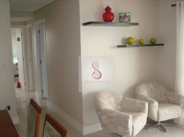 Apartamento com 3 dormitórios à venda, 81 m² por r$ 400.000,00 - urbanova - são josé dos c - Foto 8
