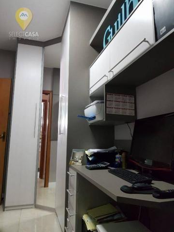 Excelente apartamento em bairro de fátima/jardim camburi 3 quartos - Foto 14