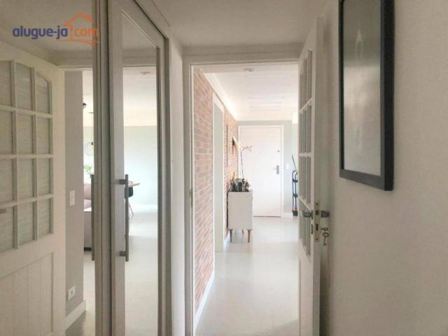 Apartamento com 3 dormitórios à venda, 120 m² por r$ 450.000 - vila adyana - são josé dos  - Foto 19