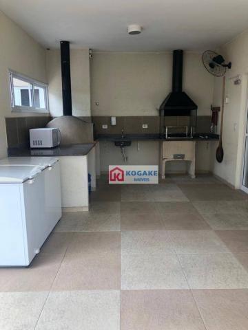 Apartamento com 2 dormitórios à venda, 53 m² por r$ 250.000,00 - vila tatetuba - são josé  - Foto 9