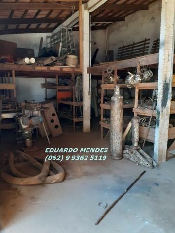 Galpão coberto, lote 360 m² em Aparecida de Goiânia, boa localização - Foto 11