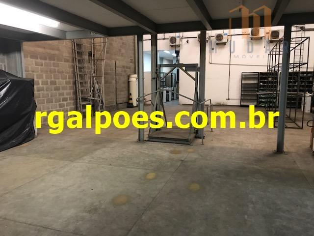 Galpão 650m², 5 salas, 6 banheiros, elevador industrial e recepção - Foto 4