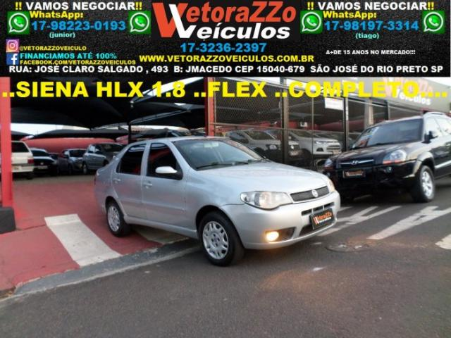 Fiat siena 2006 1.8 mpi hlx 8v flex 4p manual