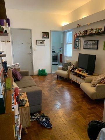 Leblon - Apto com sala, 1 quarto e dependências completas - Foto 2