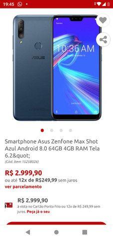 Asus ZenFone Max shot pro - Foto 3