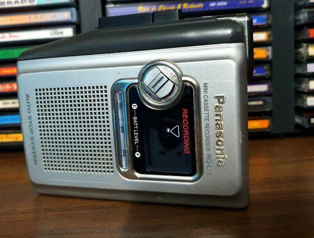 Mini Cassete Recorde Panasonic