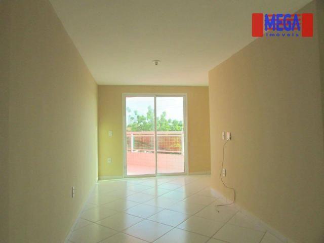 Apartamento com 2 quartos para alugar, próximo à Av. Jovita Feitosa - Foto 3