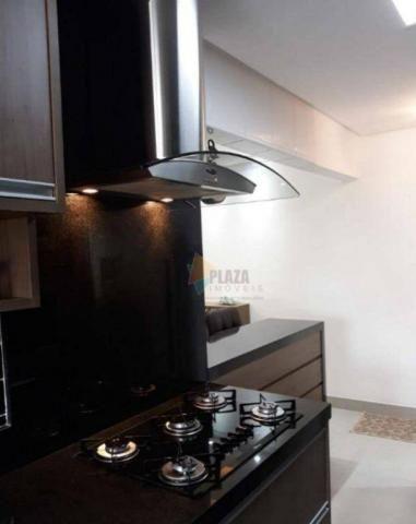 Apartamento com 2 dormitórios para alugar, 76 m² por R$ 3.000,00/mês - Tupi - Praia Grande - Foto 17