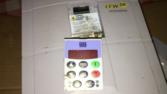 Inversor cfw08 380v 5cv retirada peças - Foto 5