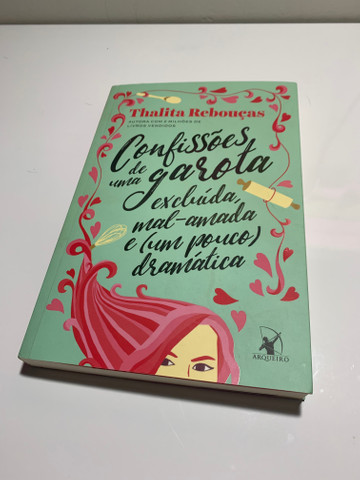 Livro: confissões de uma garota excluída. (thalita rebouças)