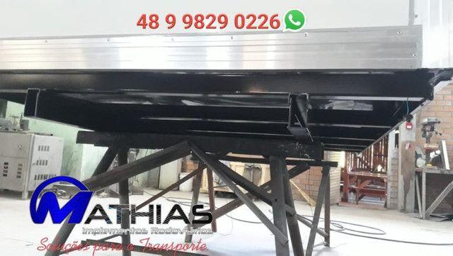 Bau termico para kia bongo e hr semi novo Mathias Implementos - Foto 3