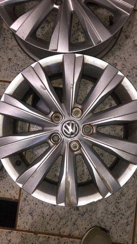 Jogo de rodas aro 15 Original VW - Foto 6
