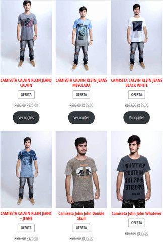 Camisetas Originais com 70% de desconto (Black November) - Foto 5