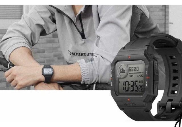 Relógio inteligente Xiaomi Amazfit Neo - Retrô - Foto 3