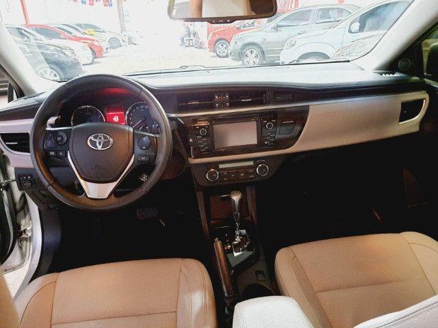 Toyota corolla xei flex ano 2016 automatico r$34.900,00 - Foto 5