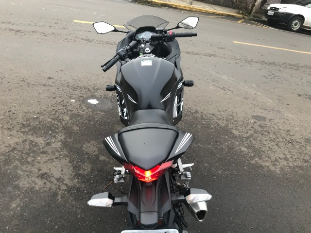 Kawasaki / Ninja 300 Abs 2018 apenas 5.700km - Foto 6