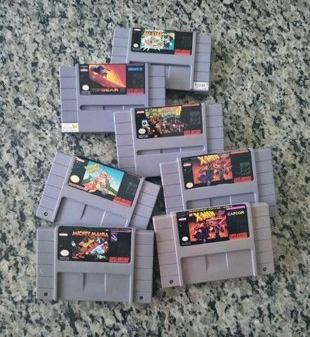 Fitas de Super Nintendo - Foto 2