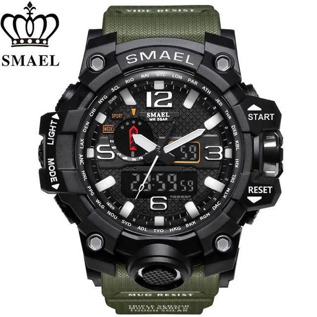Relógios Smael militar - Foto 2