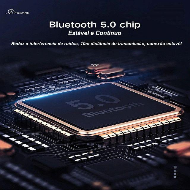 Fone de Ouvido Para Celular Bluetooth Sem Fio - Entrega Grátis na Região - Foto 5