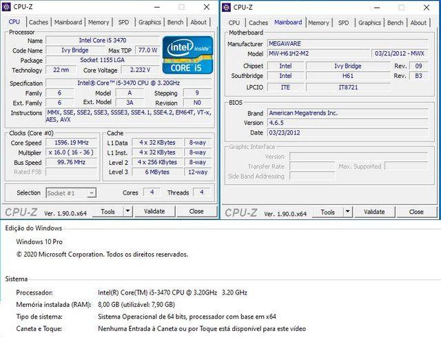 Kit I5 3470 - 8GB - HD500 - Foto 4