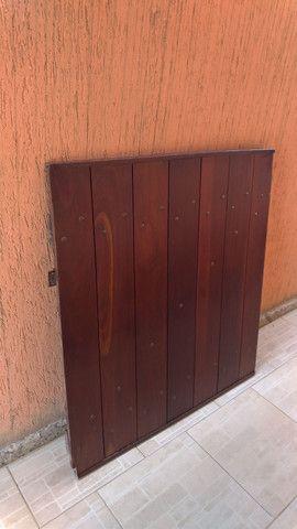 Portão de madeira - Foto 4