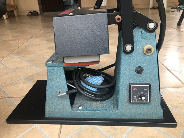 Máquina de estampar boné - Foto 3